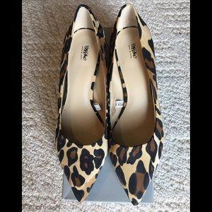 Mossimo for Target cheetah print heels